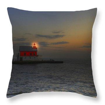 Light At Dusk Throw Pillow