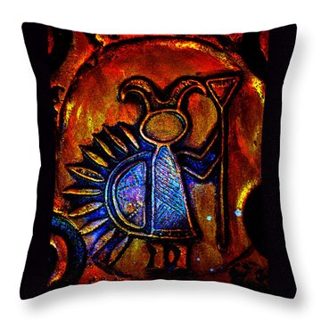 Light Bringer Throw Pillow