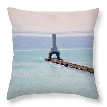 Light House Throw Pillow by Dyana Rzentkowski