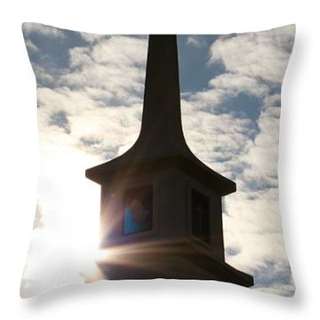 Throw Pillow featuring the photograph Light by Kume Bryant