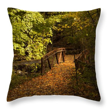 Light My Way Throw Pillow
