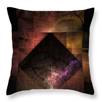 Throw Pillow featuring the digital art Light Of The World by NirvanaBlues