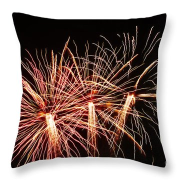 Light Painting Throw Pillow