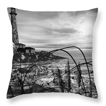 Light Within Throw Pillow by Lourry Legarde