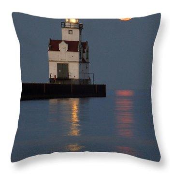 Lighthouse Companion Throw Pillow