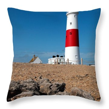 Lighthouse Vertical Throw Pillow
