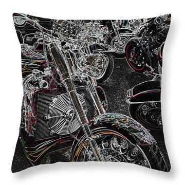 Lights Out 2 Throw Pillow