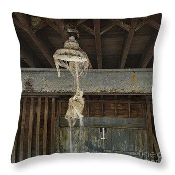 Lights Out Throw Pillow by John Greim