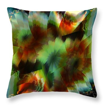 Like Stained Glass Throw Pillow