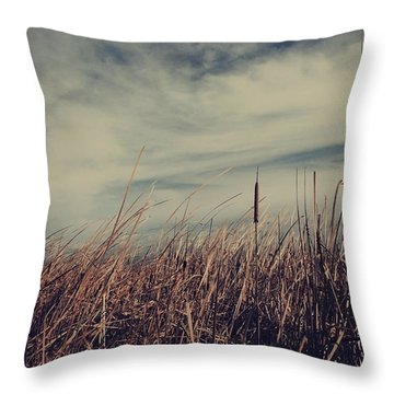 Like The Way You Used To Run Your Fingers Through My Hair Throw Pillow by Laurie Search