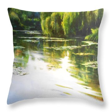 Lilly Lake Throw Pillow