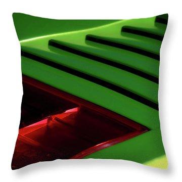 Lime Light Throw Pillow