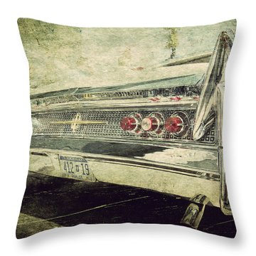 Lincoln Continental Throw Pillow