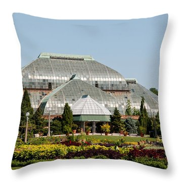 Lincoln Park Zoo In Chicago Throw Pillow