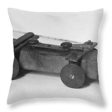 Lincoln Toy Wagon Throw Pillow by Granger