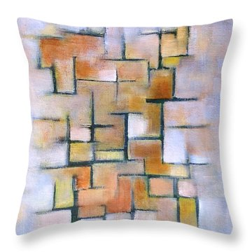 Line Series Throw Pillow by Patricia Cleasby