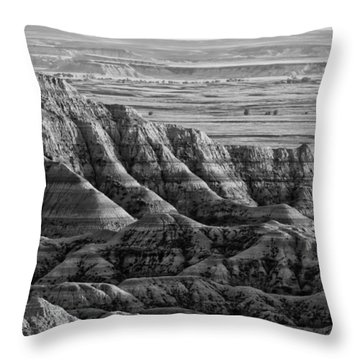 Line Them Up Throw Pillow by Wilma  Birdwell