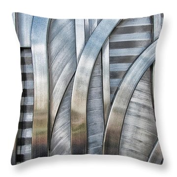 Throw Pillow featuring the photograph Lines And Curves by Tammy Espino