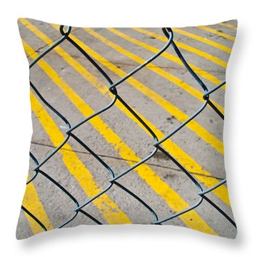 Throw Pillow featuring the photograph Lines by David Pantuso