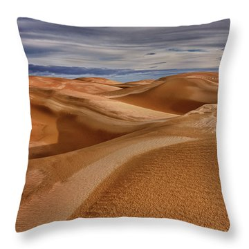 Lines To Infinity Throw Pillow