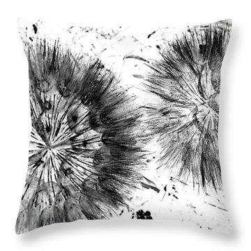 Lion Dance  Throw Pillow by Jerry Cordeiro
