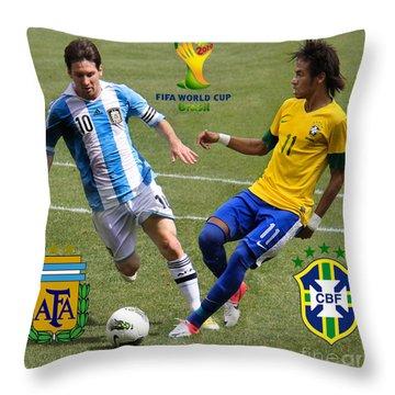 2010 Fifa World Cup Throw Pillows