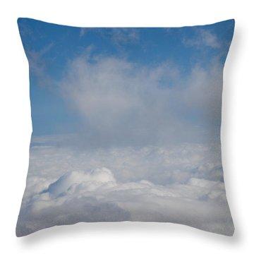Listen To The Universe Throw Pillow by Ralf Kaiser