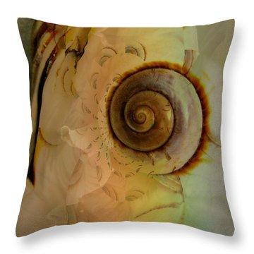 Little Pet Throw Pillow by Shirley Sirois
