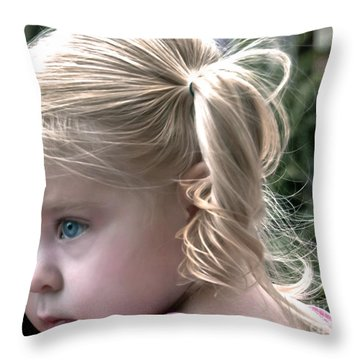 Little Posy Throw Pillow
