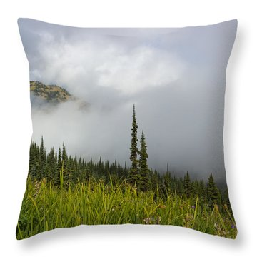 Little Slice Of Heaven Throw Pillow by Heidi Smith