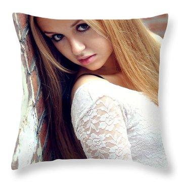 Liuda4 Throw Pillow by Yhun Suarez