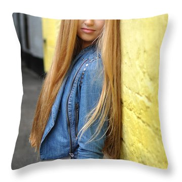 Liuda6 Throw Pillow by Yhun Suarez
