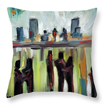 Live Show By Prankearts Throw Pillow by Richard T Pranke