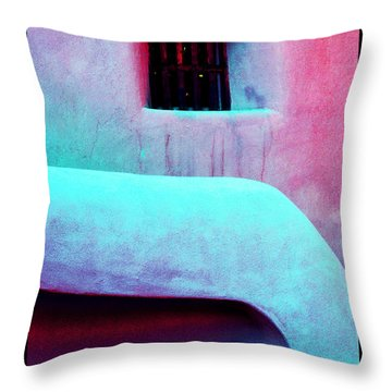 Throw Pillow featuring the photograph Living Between Worlds by Susanne Still