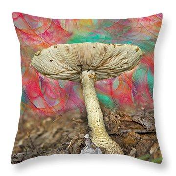Living Myth  Throw Pillow by Betsy Knapp
