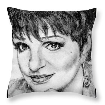 Liza Minnelli In 2006 Throw Pillow
