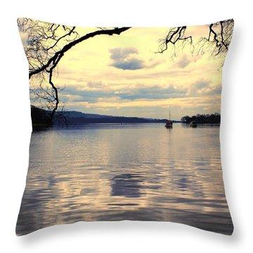 Loch Lommond Throw Pillow