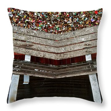 Throw Pillow featuring the photograph Locks Of Love 2 by Kume Bryant