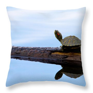 Log Roll Throw Pillow