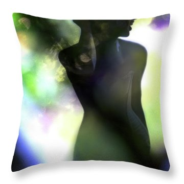 Throw Pillow featuring the photograph Lola by Richard Piper
