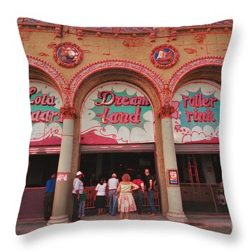 Lola Starr Dreamland Throw Pillow by Mark Gilman