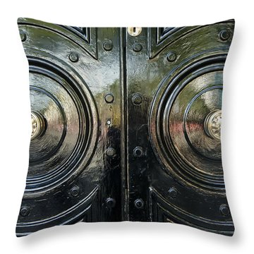 London Brass Throw Pillow