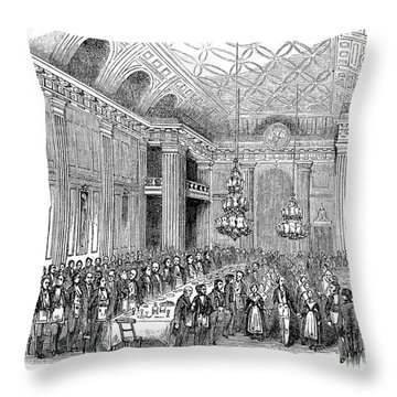 London: Freemasons Hall Throw Pillow by Granger