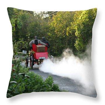 London To Brighton Throw Pillow by Maria Joy