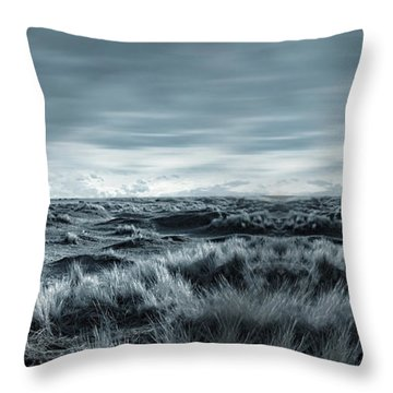 Lone Throw Pillow by Lourry Legarde