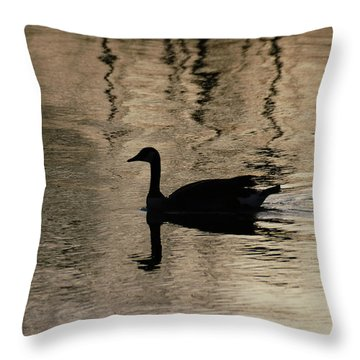 Lonely Throw Pillow by Vilas Malankar