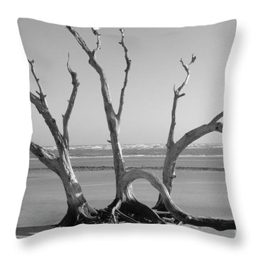 Lonesome Tree Throw Pillow by Melody Jones