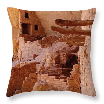 Long House Throw Pillow by FeVa  Fotos