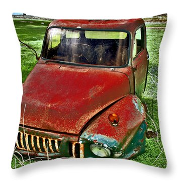 Long Term Parking Throw Pillow
