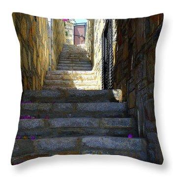Long Way Up Throw Pillow